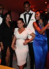 LeBron James, Savannah Brinson, Adrienne Bosh, Chris Bosh, Gabrielle Union and Dwyane Wade