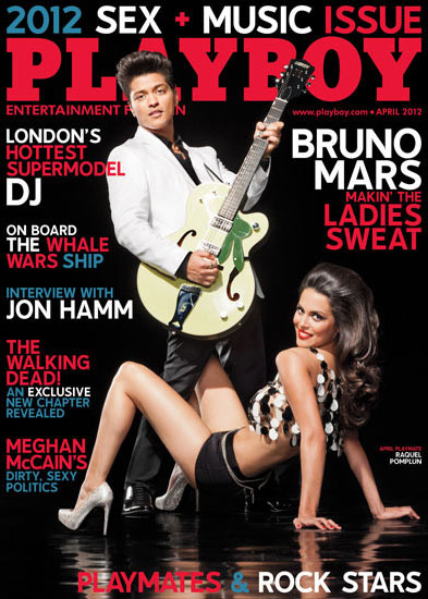 Playboy sex and music issue