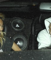 What's so funny Chris and Karrueche?