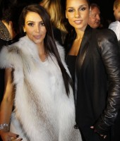 Kim Kardashian & Alicia Keys