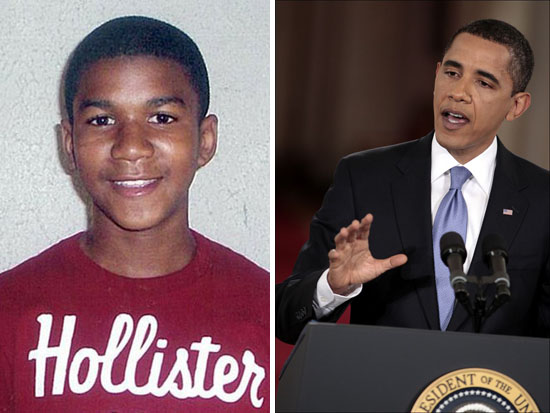 "President Barack Obama: ""If I Had A Son, He'd Look Like Trayvon ..."