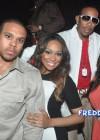 Shannon Brown, Monica, Ludacris and Luda's fiancee Eudoxie
