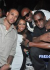 Shannon Brown, Monica, producer Rico Wade and Diddy