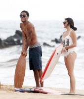 Eddie Murphy's 19-year-old son Myles with his girlfriend?