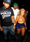 Lil Kim and her new boyfriend Mr. Papers outside Key Club in Hollywood, CA (June 2012)