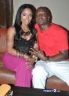 Rasheeda and her manager/husband Kirk Frost
