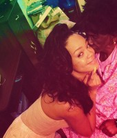 "Rihanna and her Grandmother Ciara ""Dolly"" Brathwaite"