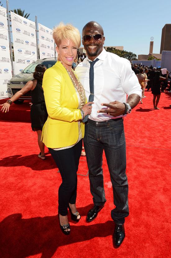 2012 BET Awards Red Carpet (Boo'd Up): Meagan Good & DeVon ... | 550 x 826 jpeg 146kB