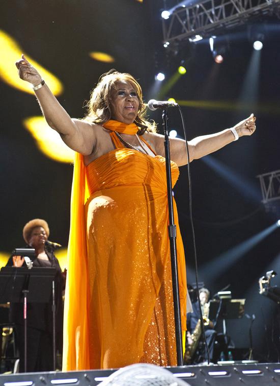 Essence Music Festival 2012 Fantasia Chaka Khan Aretha