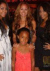 Tammie Grant with her daughters (Taryn, Mahogany and Piper)