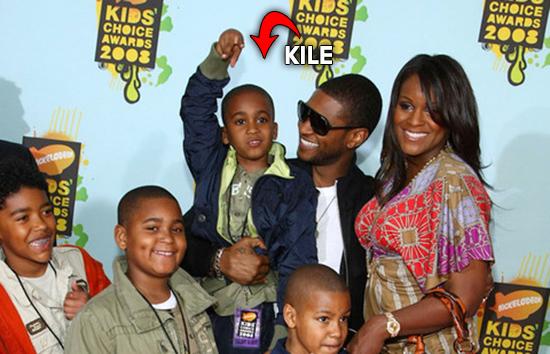 Usher's Stepson (Tameka's Son) Kile Glover Declared Brain ...