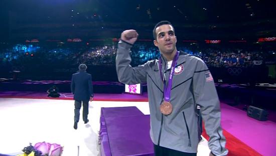 Danell Leyva bronze medal