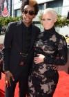 Wiz Khalifa & Amber Rose on the red carpet of the 2012 MTV VMAs