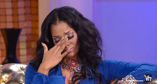 Joseline Hernandez Crying