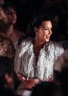 Kim Kardashian and Kanye West with Tyra Banks - Marchesa fashion show - Mercedes Benz New York Fashion Week 2012
