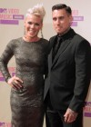 Pink & Carey Hart on the red carpet of the 2012 MTV VMAs