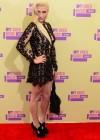 Ke$ha on the red carpet of the 2012 MTV VMAs