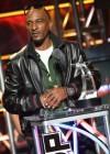 "Rakim accepts the ""I Am Hip Hop Icon"" award at the 2012 BET Hip-Hop Awards"