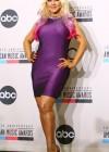 Christina Aguilera at the 2012 American Music Awards Nominations