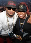 The Dream & Estern Dean at Jay-Z's Barclays Center Grand Opening concert in Brooklyn, New York (Sep 28 2012)