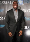 Magic Johnson at Jay-Z's Barclays Center Grand Opening concert in Brooklyn, New York (Sep 28 2012)