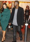 Kanye West and Kim Kardashian in Rome, Italy