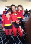 Jessica Alba, Cash Warren and daughter (Halloween 2012)