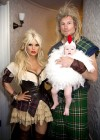 Jessica Simpson, husband Eric Johnson and baby Maxwell (Halloween 2012)