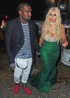Kanye West and Kim Kardashian (Halloween 2012)