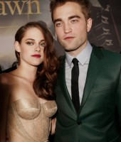 "Kristen Stewart & Robert Pattinson at L.A. premiere of ""Twilight: Breaking Dawn Part 2"""