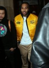 Chris Brown leaves his hotel in Paris (Dec 2012)
