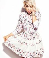 Rita Ora for January 2013 Glamour Magazine