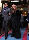 Beyonce and Jay-Z at President Barack Obama's 2013 Inauguration