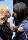 Beyonce and First Lady Michelle Obama at President Barack Obama's 2013 Inauguration