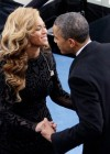 Beyonce and President Barack Obama at his 2013 Inauguration