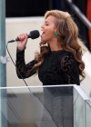 "Beyonce performing the ""Star Spangled Banner"" at President Obama's 2013 Inauguration"