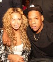 Beyonce & Jay-Z at the 2013 NBA All-Star Game