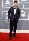 Drake on the red carpet at the 2013 Grammy Awards