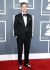 Justin Timberlake on the red carpet at the 2013 Grammy Awards
