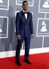 Luke James on the red carpet at the 2013 Grammy Awards