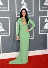 Katy Perry on the red carpet at the 2013 Grammy Awards