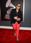 Sky Blu (of LMFAO) on the red carpet at the 2013 Grammy Awards