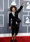 Red Foo (of LMFAO) on the red carpet at the 2013 Grammy Awards