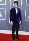 John Mayer on the red carpet at the 2013 Grammy Awards