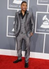Nelly on the red carpet at the 2013 Grammy Awards
