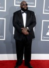 Rick Ross on the red carpet at the 2013 Grammy Awards