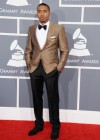 Nas on the red carpet at the 2013 Grammy Awards