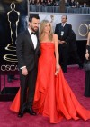 Jennifer Aniston and Justin Theroux: Oscars 2013 red carpet