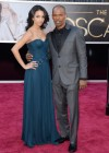 Jamie Foxx and his daughter Corrine Bishop: Oscars 2013 red carpet