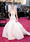 Jennifer Lawrence: Oscars 2013 red carpet